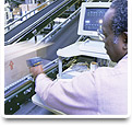 Upgrades to Human Machine Interface Systems & PLC Controls for the Shipping & Material Handling Industry